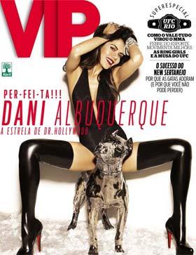 Daniela Albuquerque na Capa da Revista Vip de Agosto