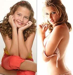 Debby Lagranha, da Turma do Didi, antes e depois