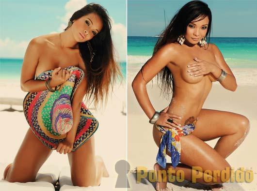 Fotos de Carol Nakamura na Revista Sexy