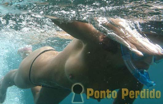 Fotos de Mulheres Debaixo D'Água