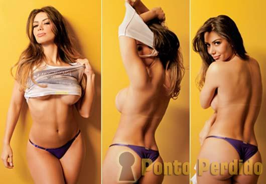 Fotos da Miss Bumbum Brasil na Revista Maxim