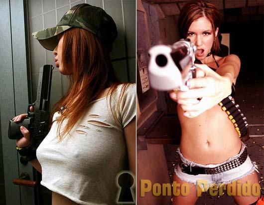 Fotos de Gatas Armadas