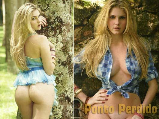 Fotos de Bárbara Evans Nua na Playboy