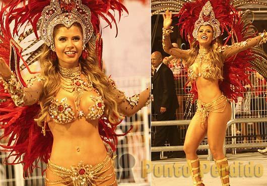 Musa do Carnaval 2012: Cacau