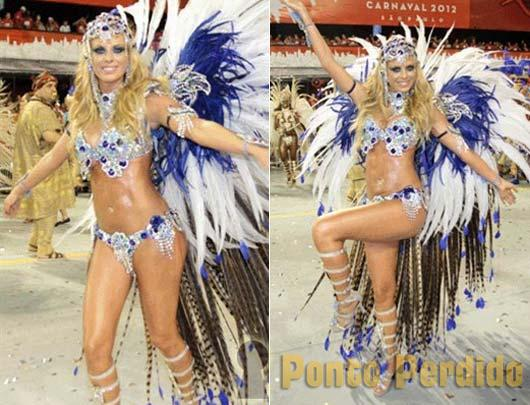 Musa do Carnaval 2012: Caroline Bittencourt