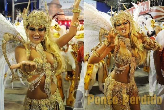 Musa do Carnaval 2012: Ellen Roche
