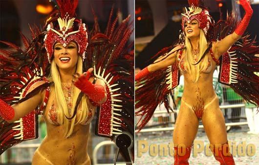 Musa do Carnaval 2012: Juju Salimeni