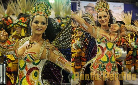 Musa do Carnaval 2012: Luiza Brunet