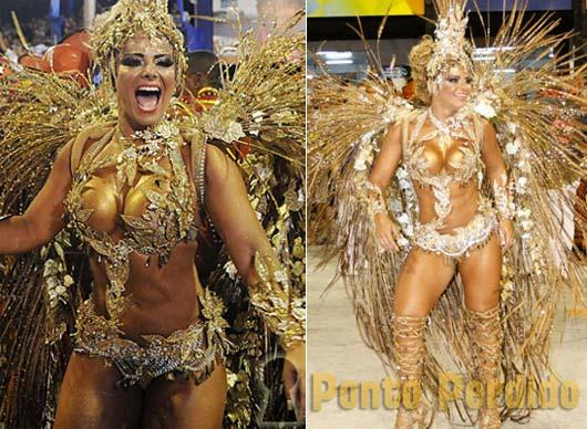Musa do Carnaval 2012: Viviane Araujo