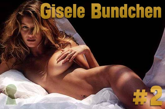 Top model: Gisele Bundchen