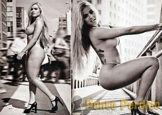 Fotos da Ex-Panicat Aryane Steinkopf na Revista Playboy