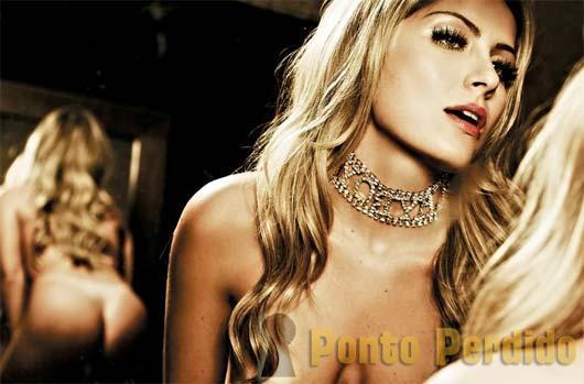 Fotos da Ex-BBB Renata D'ávila na Playboy de Maio