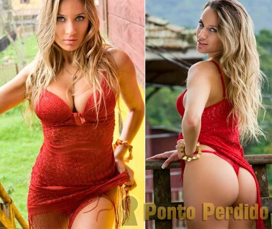 Fotos Sensuais de Marina Neves no Secret Girl