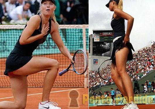 Fotos dos Melhores Ângulos de Maria Sharapova