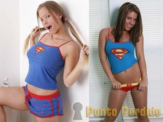 Fotos da Lindas Meninas Fantasiadas de SuperGirl