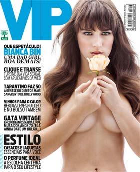 Bianca Bin na Capa da Revista VIP de Março de 2013