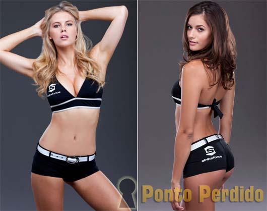 Chrissy Blair e Vanessa Hanson: as Novas Ring Girls do UFC