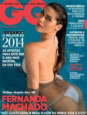 Fernanda Machado na Capa da Revista GQ