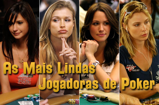 As Mais Lindas Jogadoras de Poker