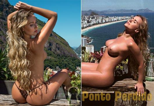 Fotos de Lola Melnick na Revista Playboy