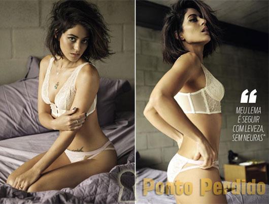 Fotos Sensuais de Carol Castro na Revista VIP