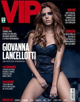 Giovanna Lancellotti na Capa da Revista VIP