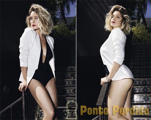 Fotos Sensuais de Letícia Spiller na Revista VIP