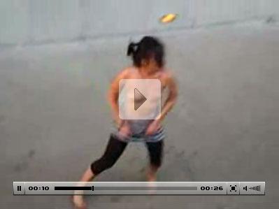 Mulher Bêbada dançando